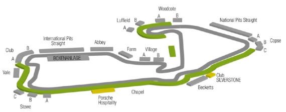 Formel1 Silverstone Plan
