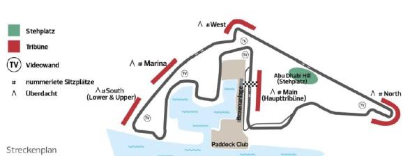 Formel1 Abu Dhabi Plan