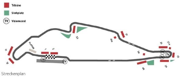 F1 Kanada Streckenplan