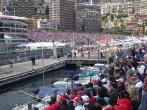 F1 Monaco 2016, Blick von Tribüne P