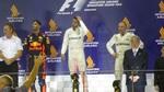 F1 Singapur Siegerehrung